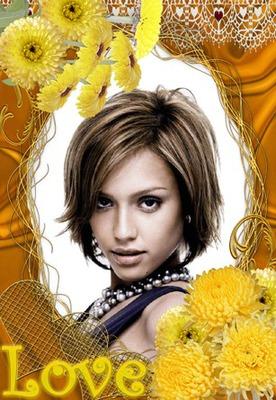 Meilė geltonos gėlės
