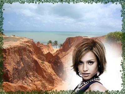 Rock at beach