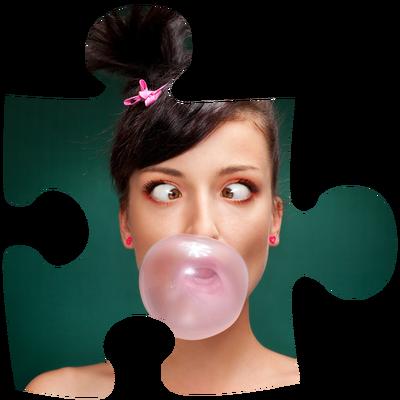 Pièce puzzle Transparent