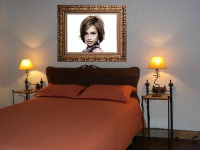 Scène Tableau tête de lit