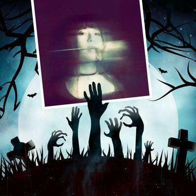 Cmentarz Halloween zombie