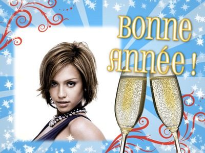 Happy New Year Party Champagne