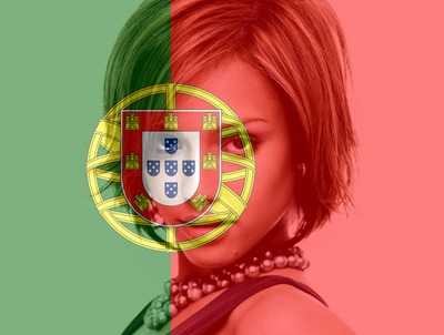 Portugal zastava prilagodljiv portugalski