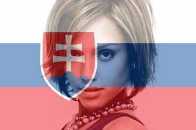 Drapeau Slovaquie Slovaque personnalisable