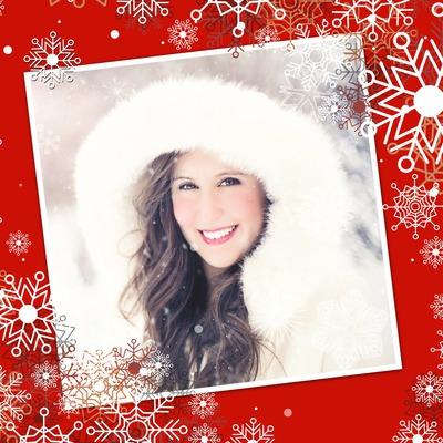 クリスマスと雪