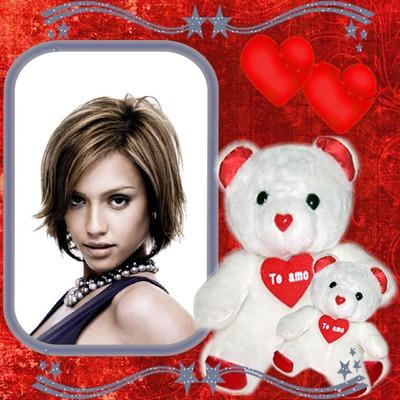 Teddybär Te amo