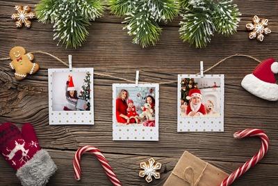 Polaroid di Natale