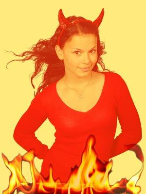 De vlammen van de hel