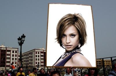 Scene Poster advertising