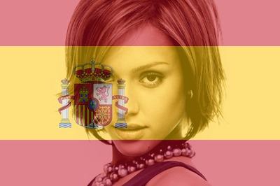 Hiszpania hiszpański flagi konfigurowalny