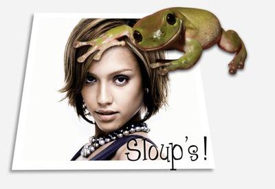 Жабата: Sloup's