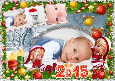 Voor kinderen Kerstmis of Nieuwjaar 2015