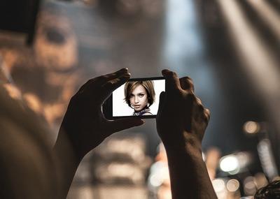 Foto för smarttelefontelefon