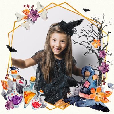 Acuarela de Halloween