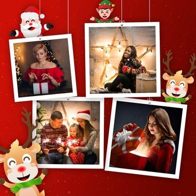 Рождественские поляроиды