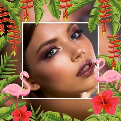 Flamingosi u džungli
