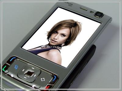 Scena del telefono cellulare
