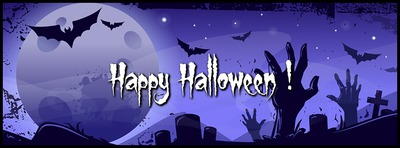 Couverture Facebook d'Halloween