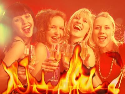De helvedes flammer