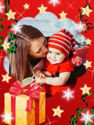 Stars Snowflakes Christmas Gift