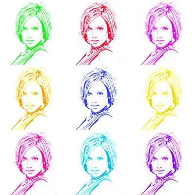 Цветна мозайка 9 снимки