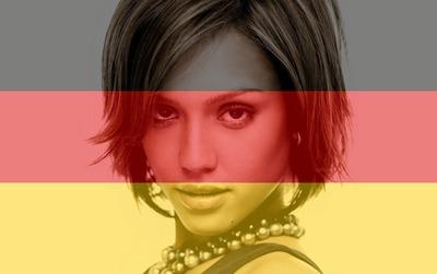 Mukautettava Saksan Saksan lippu