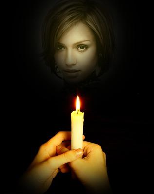 Свещ за причастие