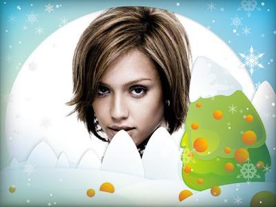 Kerstboom Winter