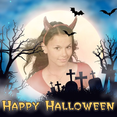 Halloween fullmåne
