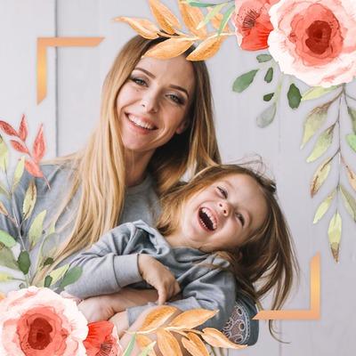 Akvarelės gėlės