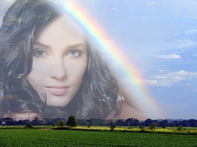 Visão em um arco-íris