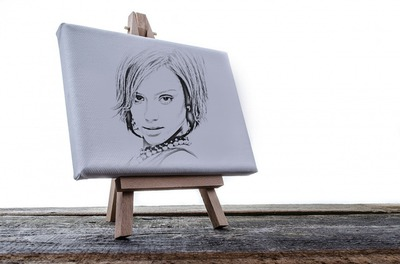 Drawing on a canvas