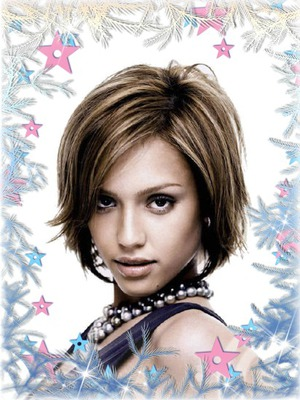 Frost Stars Winter Christmas