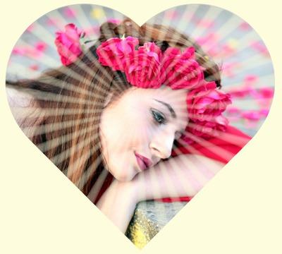 Spinduliuojanti širdis