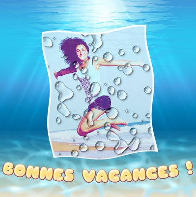 Felices vacaciones bajo el mar
