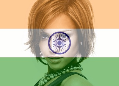 Bandiera dell'India India Independence Day