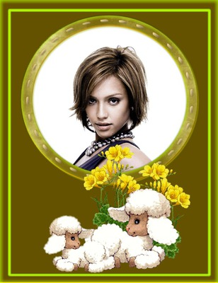 羊の黄色の花