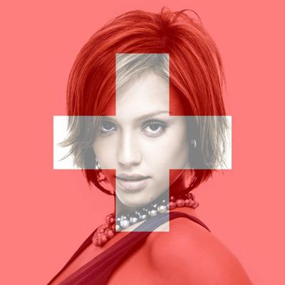 Персонализиращо се швейцарско знаме