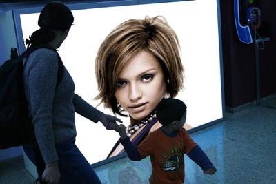 Scena reklamnog plakata