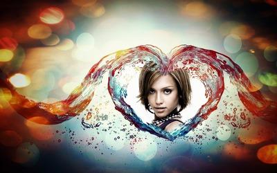Καρδιά σε νερό