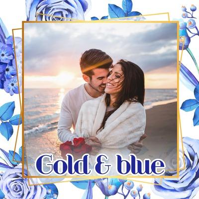Blå roser