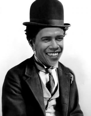 Tvár Charlieho Chaplina