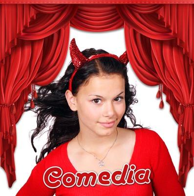 cortina roja