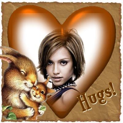 Corazones ♥ Ardillas Hugs