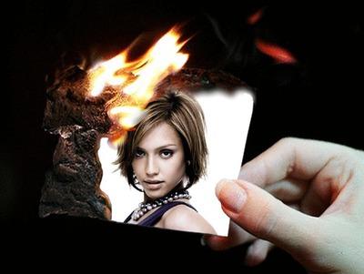 Zdjęcie Scene palenie