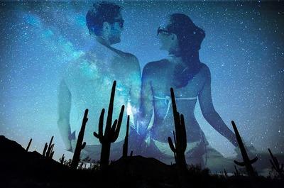 A noite no deserto