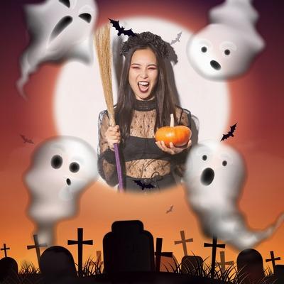Halloween spöken