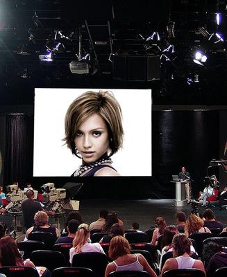 Wide-screen Conference Scene