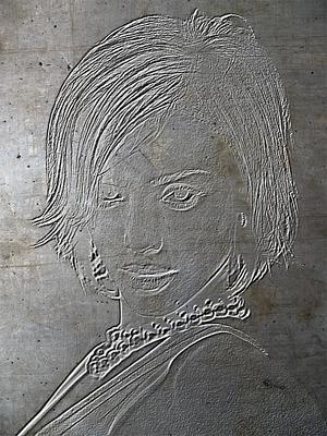 Gravure sur métal