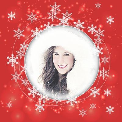 Рождество Снежинки
